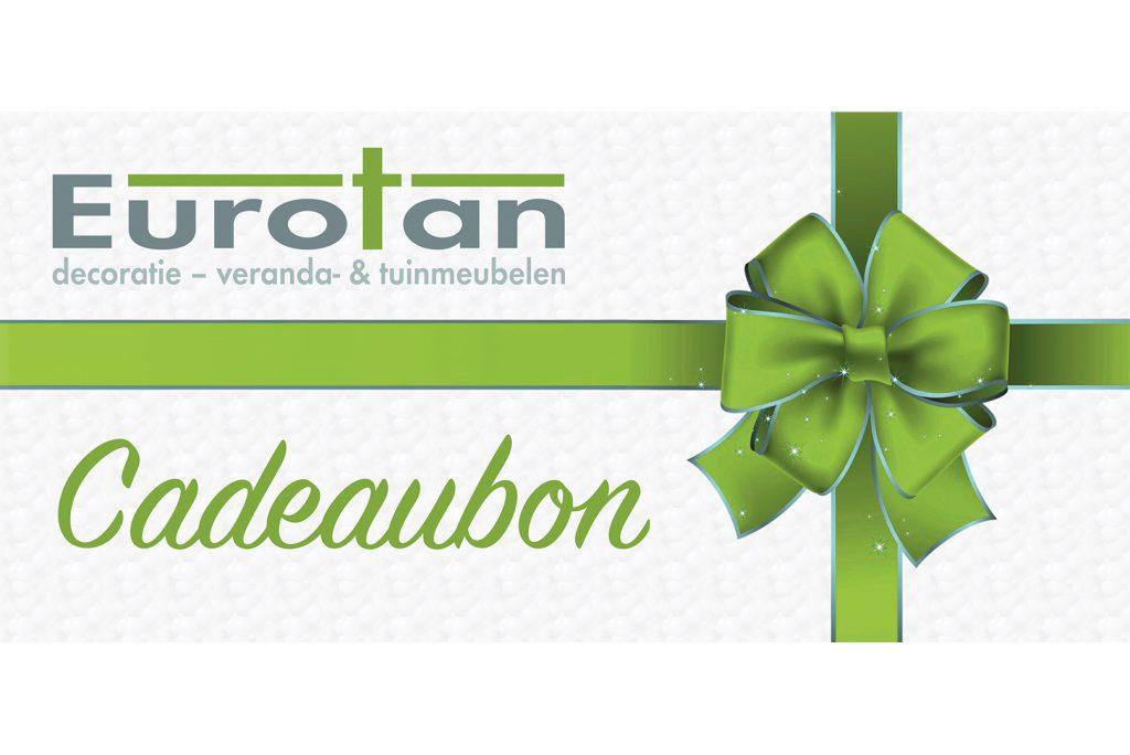 cadeaubon Eurotan, binnen- en buitenmeubelen, Lommel